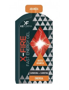 Keforma x fire gel arancia